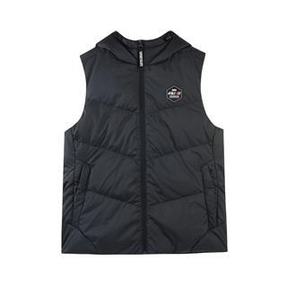 特步 专柜款 女子羽绒马甲 冬季新款运动休闲保暖外套982428260044