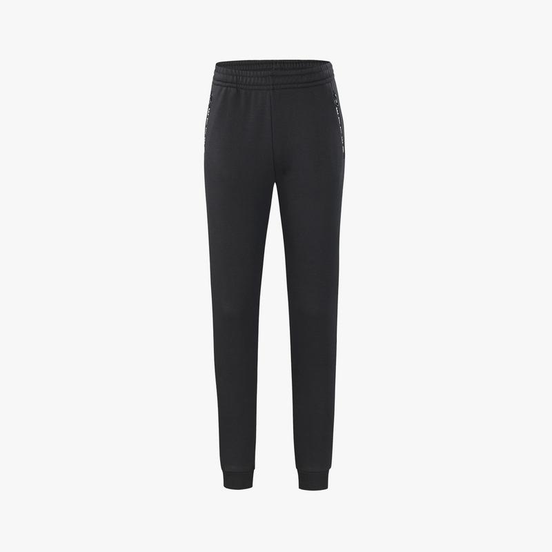 特步 专柜款 女子针织长裤 冬季新款舒适百搭休闲跑步长裤982428631539