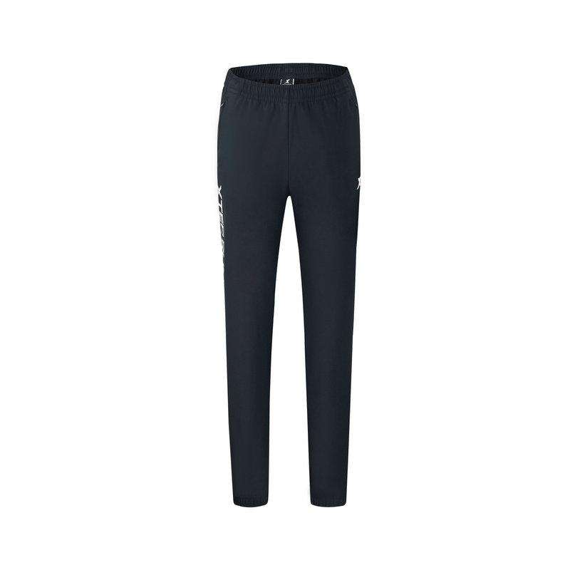 特步 专柜款 女子梭织运动长裤 冬季百搭休闲运动跑步长裤982428980204