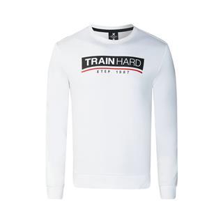 特步 专柜款 男子卫衣 冬季新款时尚简约套头运动上衣982429051735
