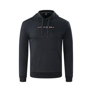 特步 专柜款 男子卫衣 冬季简约舒适连帽运动套头衫982429051812