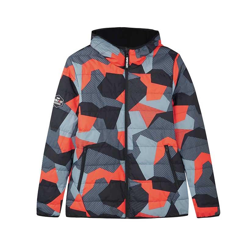 特步 专柜款 男子羽绒服 冬季新款舒适保暖运动休闲外套982429190806