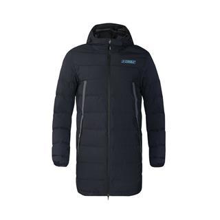 特步 专柜款 男子羽绒服 冬季新款休闲舒适保暖中长款运动外套982429190887