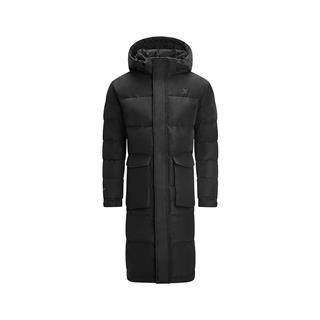 特步 专柜款 男子羽绒服 冬季新款时尚舒适长款保暖运动外套982429190894