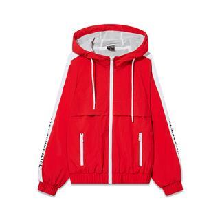 特步 专柜款 女子双层夹克 2019春季新品时尚潮流舒适女休闲外套981128120831
