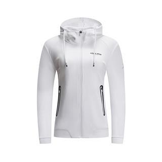 特步 女子春季新款基础健身跑步运动针织衫881128069122