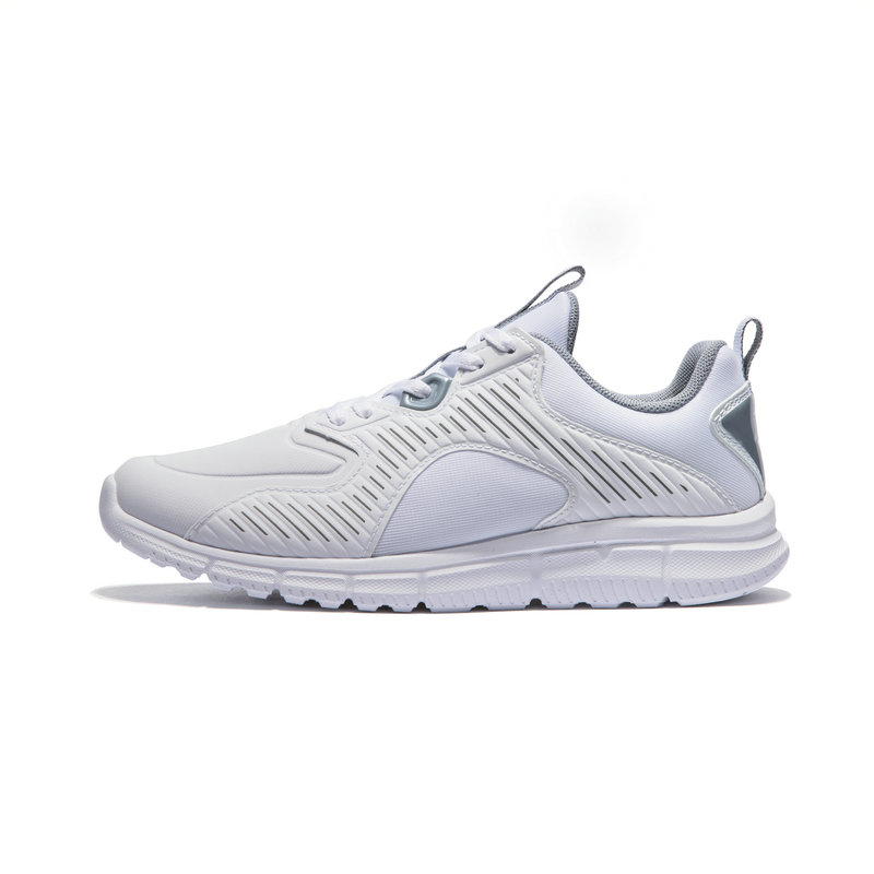 特步 专柜款 女子跑鞋 2019春季新款休闲耐磨革面轻便运动鞋981118110330