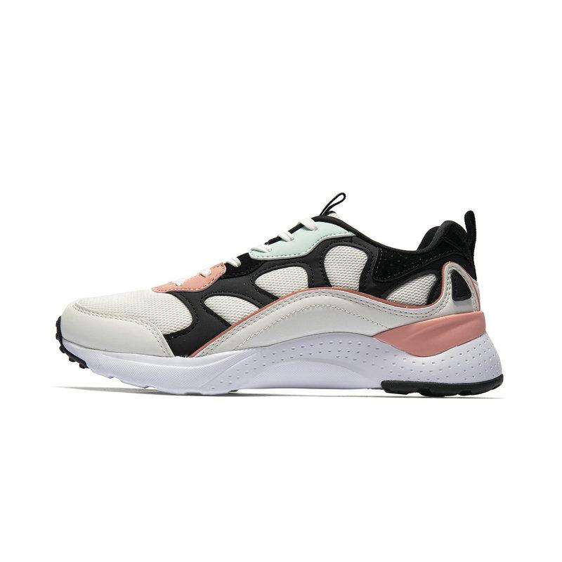 特步 专柜款 女子休闲鞋 2019春季新款都市时尚轻便舒适运动鞋981118320029