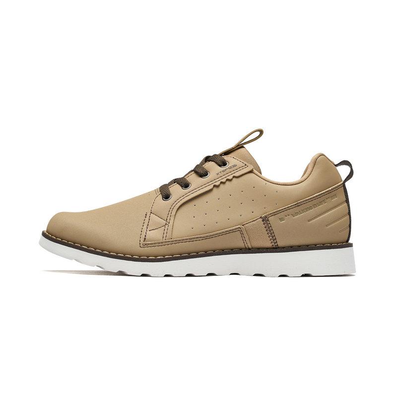 特步 专柜款 男子户外鞋 2019春季新款革面系带户外运动鞋981119171577