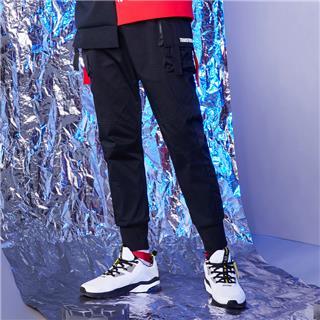 【变形金刚联名款】特步 专柜款 运动裤男2019年春季新款休闲裤梭织长裤981129980221