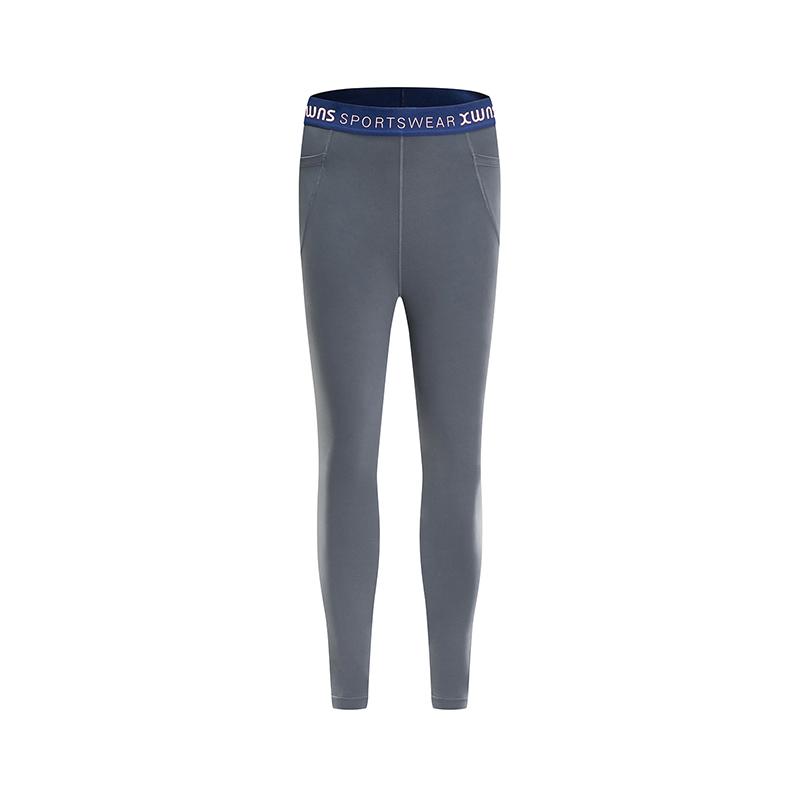 特步 女子春季运动健身舒适透气专业紧身裤881128899014