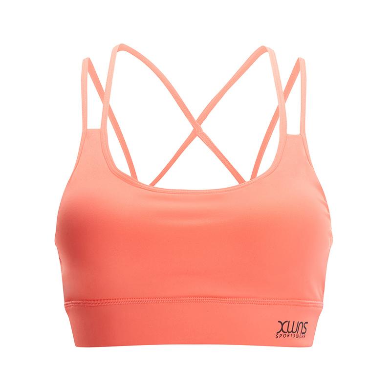 特步 女子春季舒适透气运动健身胸衣881128939019