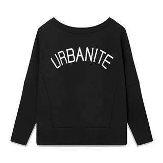 特步 专柜款 女子卫衣 2019春季新款都市活力宽松套头衫981128051857