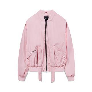 特步 专柜款 女子双层夹克 2019春季新款时尚潮流舒适都市百搭外套981128120827