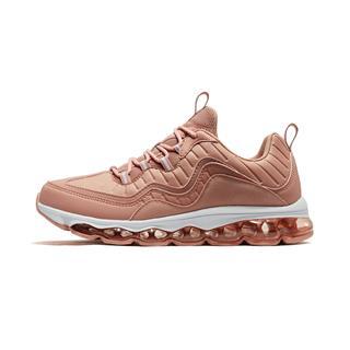 特步 女子革面舒适轻便跑步运动鞋881118119287