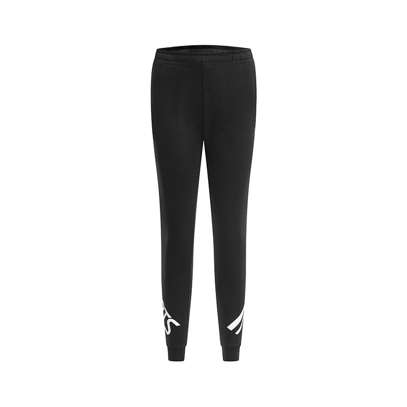 特步 专柜款 女子针织长裤 2019春季新款时尚健身综训运动长裤981128631660
