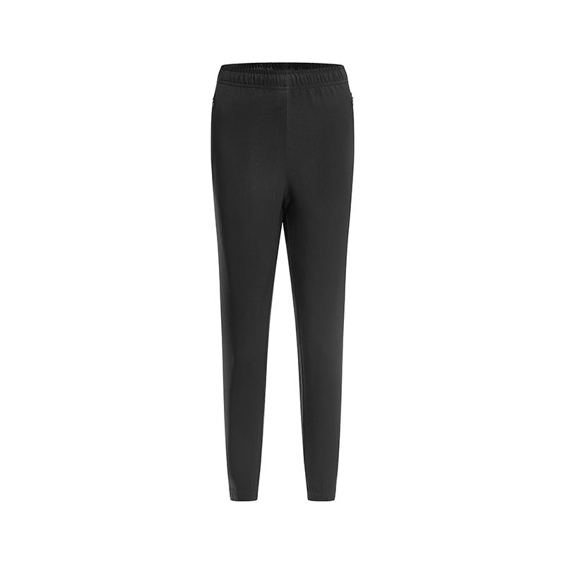 特步 专柜款 女子梭织运动长裤 2019春季新款休闲简约健身运动长裤981128980224