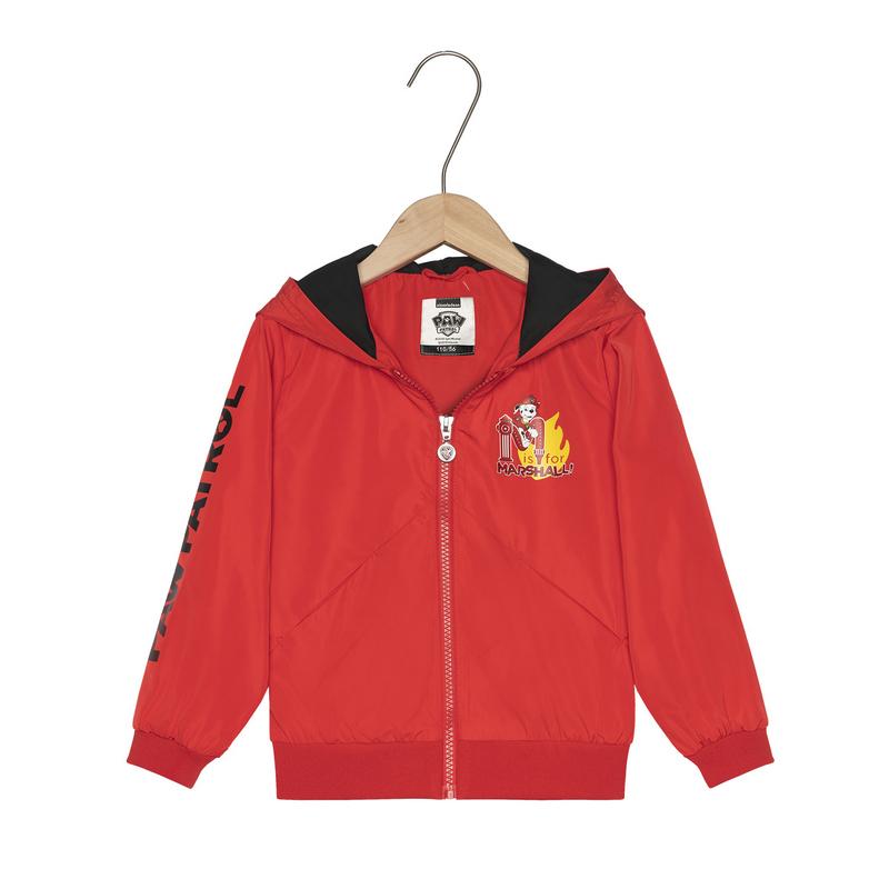 特步 专柜款 男童春季新款潮流时尚连帽儿童双层夹克681125124122