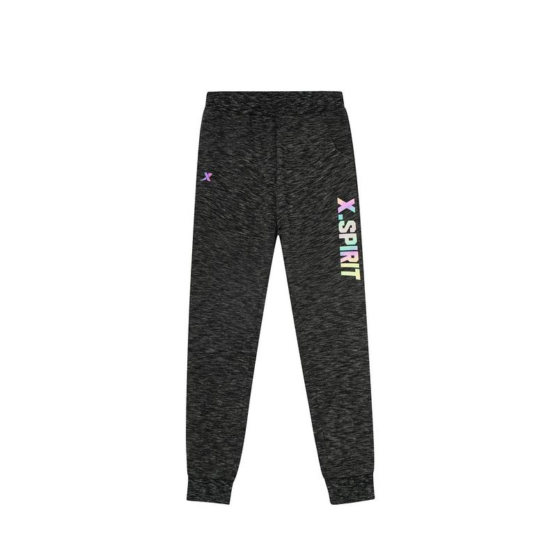 特步 专柜款 男童春季都市休闲时尚柔软舒适儿童针织长裤681125633057