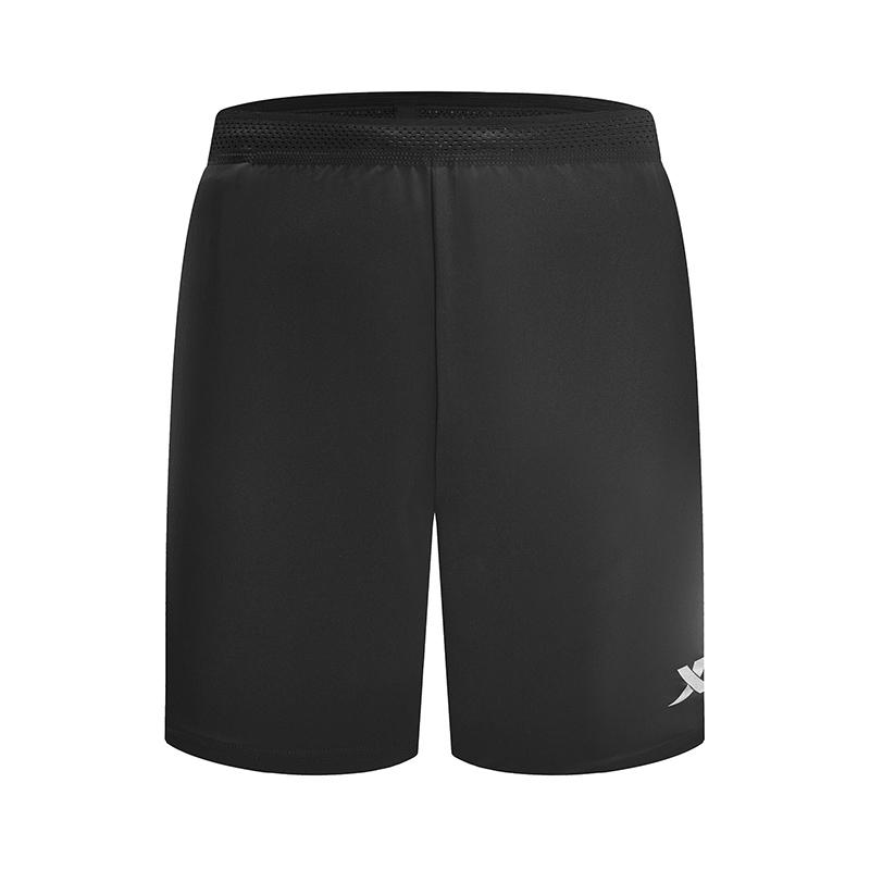 特步 专柜款 男子梭织运动短裤 2019春季新款简约马拉松短裤981129240144