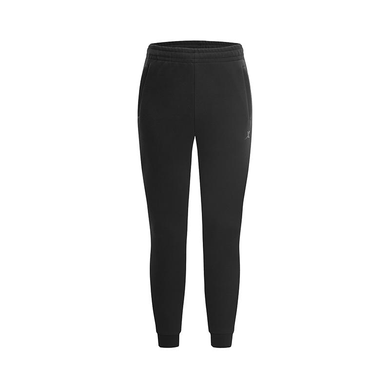 特步 专柜款 男子针织长裤 简约舒适运动长裤981129631676