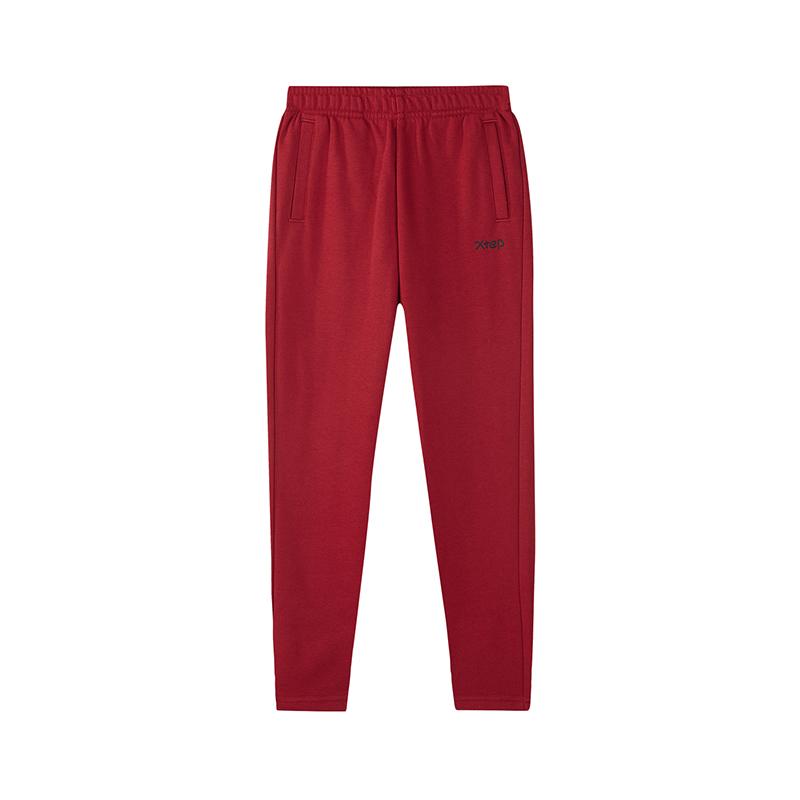 特步 儿童针织长裤 2019春季新款男童舒适时尚运动长裤881125639355