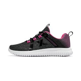 特步 儿童跑鞋 女童中大童时尚网面舒适透气运动鞋681114119167