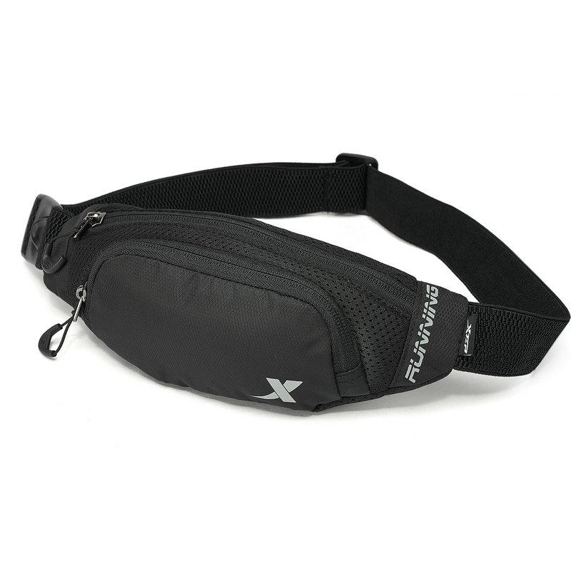 特步 男女通用腰包 2019春新款轻便携带运动跑步背包881237149006