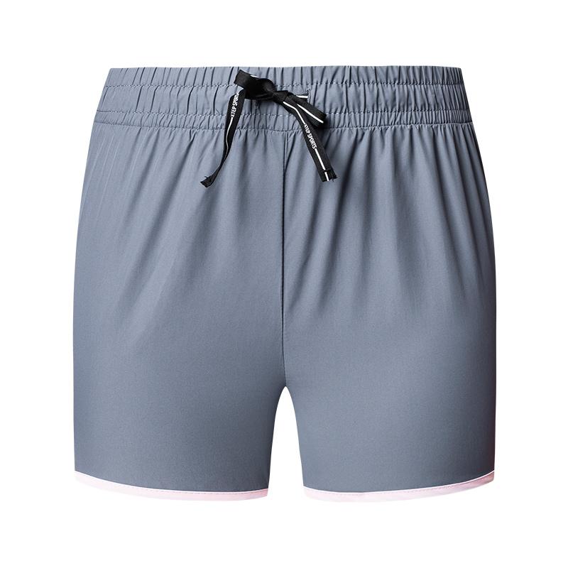 特步 女子梭织短裤 2019春夏新款舒适轻便透气运动短裤881228679119