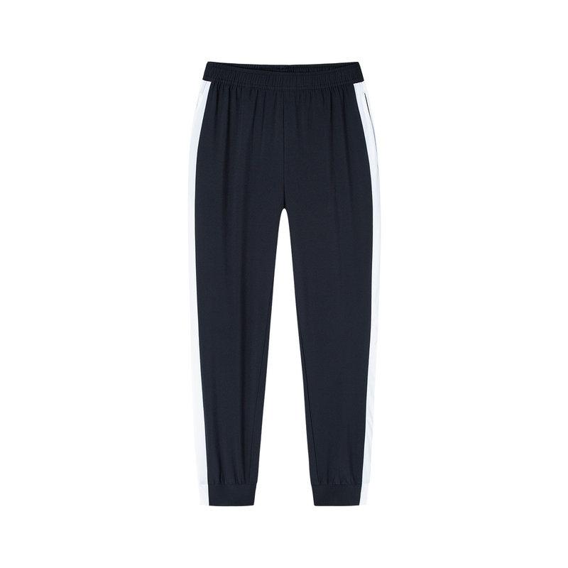 特步 女子梭织九分裤 2019春季新款时尚潮流活力运动裤881228A39003
