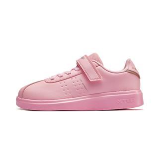 特步 女童跑鞋 2019年春季新款时尚休闲运动跑步鞋681114319176