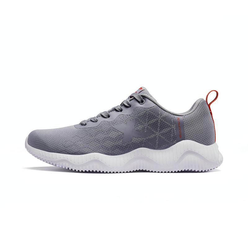 特步 男子跑鞋 2019春季新款网面透气轻便运动鞋881119119065