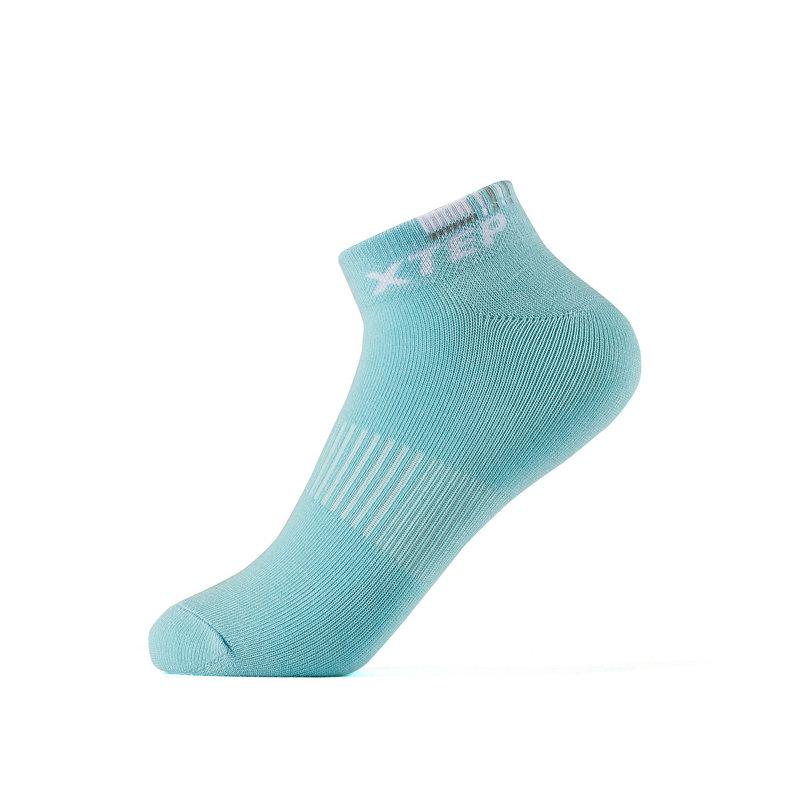 特步 女短袜混色五双装 2019春季新款轻便舒适运动袜881138549024