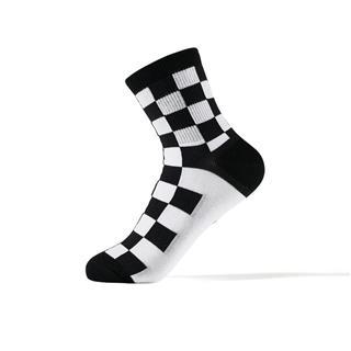 特步 女子长袜混色三双装 潮流嘻哈个性长袜881138569012