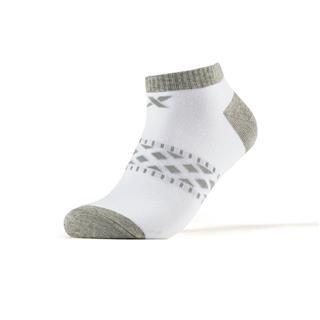 特步 男短袜混色五双装 2109春季新款简约针织休闲跑步袜881139549023