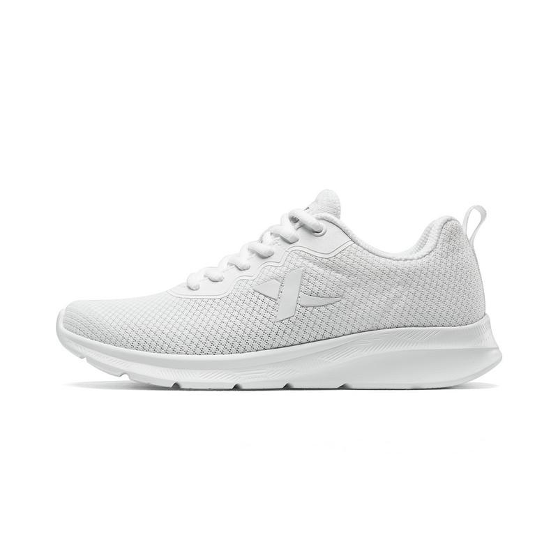特步 女子跑鞋 2019夏季新款网面系带舒适运动鞋881218119098