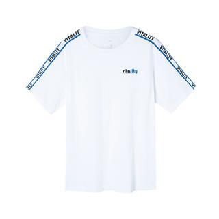 【景甜同款】特步 女子短袖针织衫 宽松简约T恤透气轻便夏装881228019010