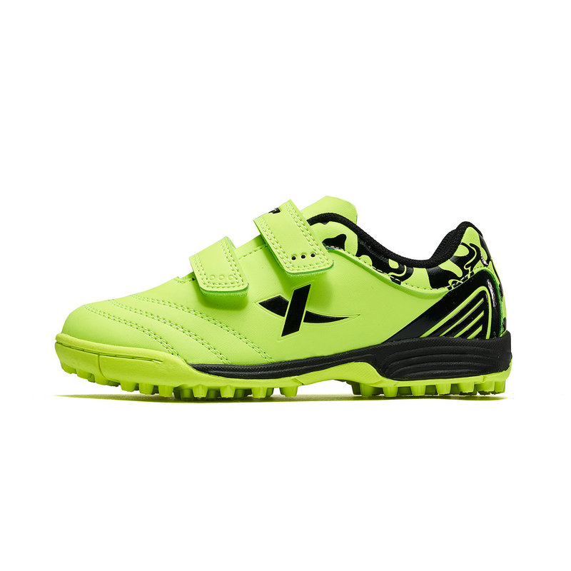 特步 专柜款 中大童春季新款运动足球鞋男童运动鞋681115183159