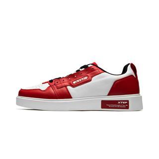 特步 专柜款 男子板鞋2019春季新款时尚滑板鞋轻便运动休闲鞋981119316212