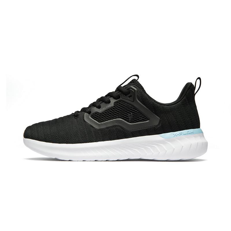 【氢风科技】特步 女子春季新款网面透气时尚百搭运动跑步鞋881218119529
