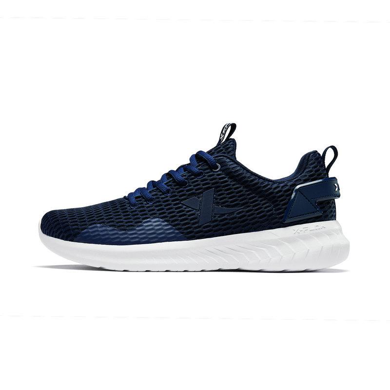【氢风科技】特步 男子跑鞋 2019春夏新款舒适透气百搭运动鞋881219119559
