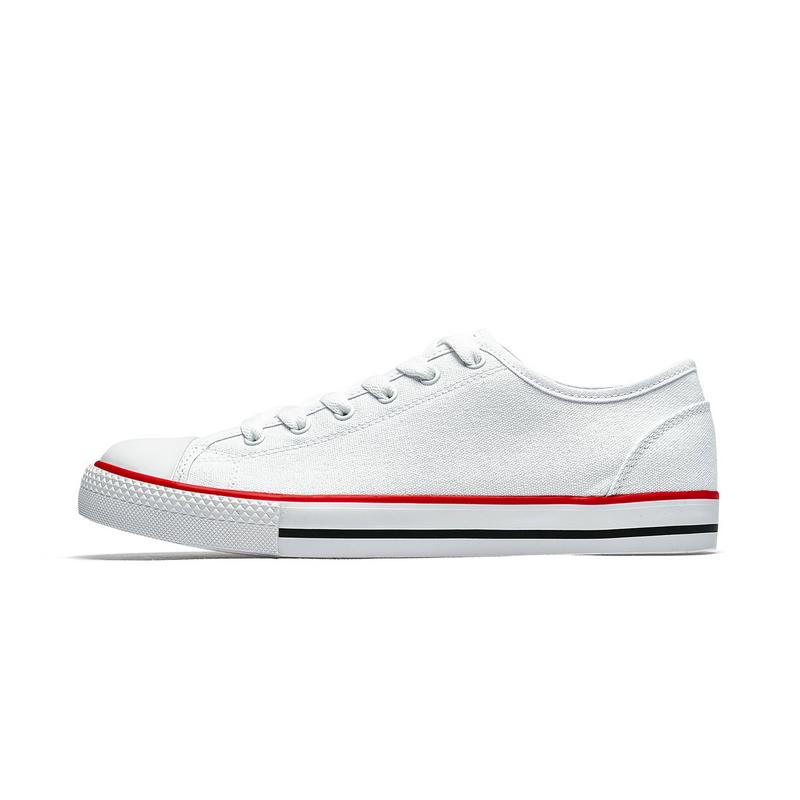 特步 男子帆布鞋 19年春季新款时尚潮流帆布鞋881119109238