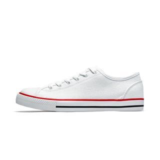 特步 男子帆布鞋 春季新款时尚潮流帆布鞋881119109238