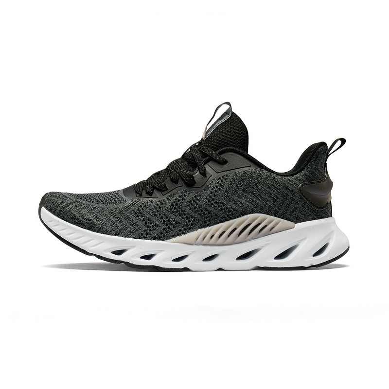 【氢风科技】特步 女跑鞋 2019春季新款透气休闲运动鞋881218119066