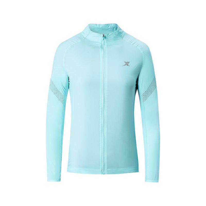 特步 专柜款 女子马拉松单风衣 2019春夏新款健身跑步透气外套981128140258