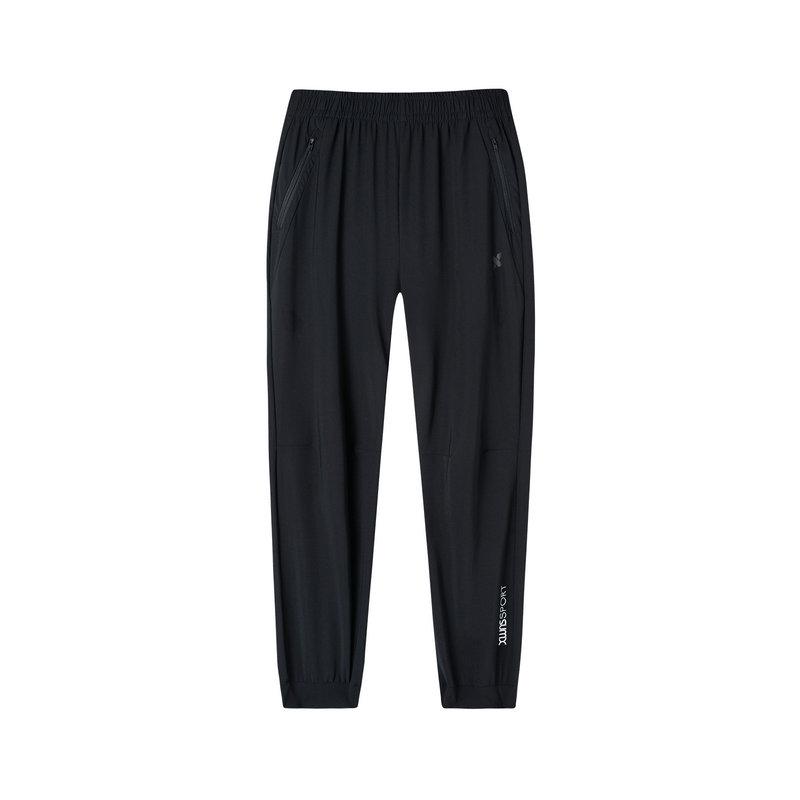特步 专柜款 女子针织长裤 2019春季新款健身运动长裤981128631656