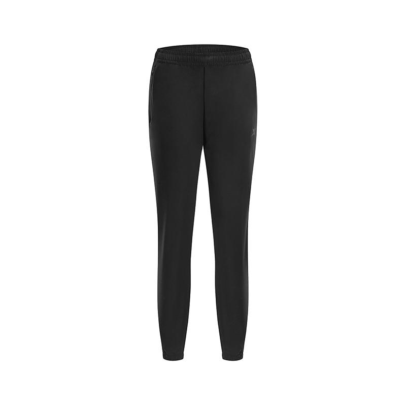特步 专柜款 女子梭织运动长裤 2019春季新款健身跑步收脚裤981128980225