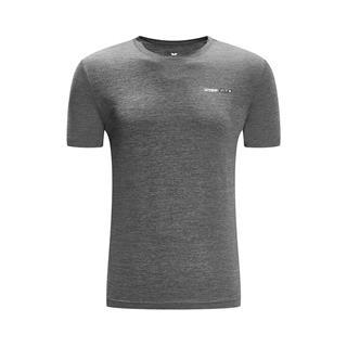 特步 专柜款 男子短袖针织衫 2019春新款轻便透气运动短袖981129012502