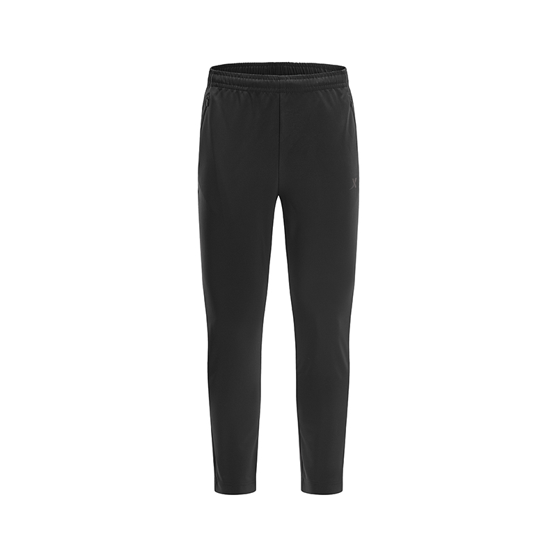 特步 专柜款 男子运动裤春季新款梭织直筒跑步健身运动裤981129980223