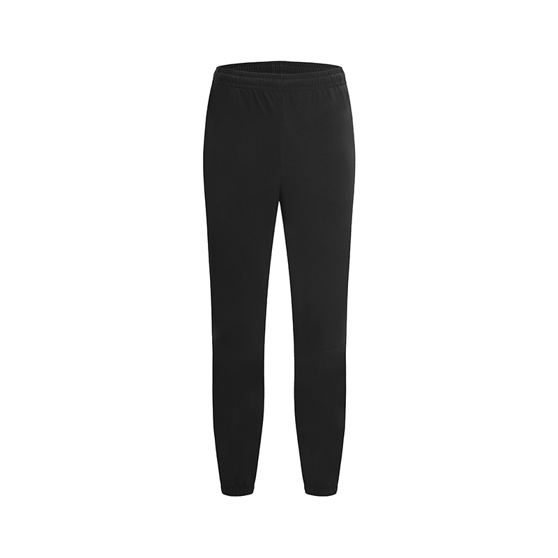 特步 专柜款 男子透气梭织长裤春季新款缩脚时尚百搭运动健身长裤981129980227